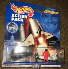 Mattel Hot Wheels 1998 John Glenn American Hero Space Action Pack Collectible II