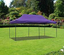 10x20  Canopy Fair Shelter Car Shelter Wedding Pop Up Tent Heavy Duty Steel