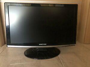Televisore UNITED 22' Lcd  DVB-T con lettore DVD integrato tv TVD9195 FULL HD