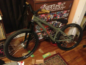 dirt jumper FOR CHARITY ns bikes custom specialized dartmoor spank santa cruz