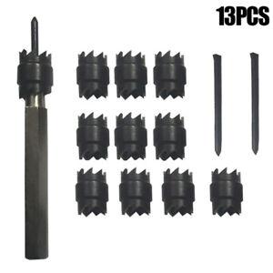 Spot Welding Cutter Drill Bit Remover Tools Double Sided Rotary Spot Cobalt Tip
