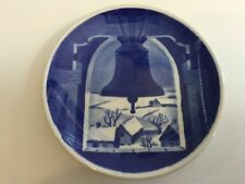 """Royal Copenhagen Denmark Hvidovre Kirketarn 11-2010 Mini Plate, 3"""" Diameter"""
