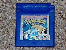 Pokemon Blue Version Nintendo Game Boy Cartridge