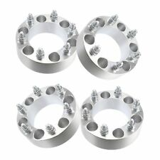 "(4) 2"" Chevy 6 Lug Wheel Spacers Adapters Fits Silverado 1500 Tahoe Suburban"