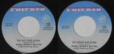 "Bobby Moore's Rhythm Aces f. Chico - Try My Love Again - original U.S. 7"" vinyl"