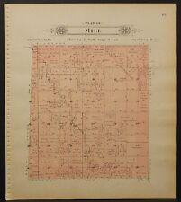 Nebraska, Lancaster County Map, 1903, Township of Mill, L1#55