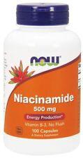 Now Foods - Niacinamide (Vitamin B-3) 500 mg 100 Capsules