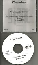 OWSLEY Coming Up Roses TRIPLE LOOPED PROMO Radio DJ CD single 1999 USA MINT