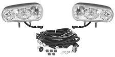 Universal Snow Plow Headlamp Light Kit, Double Post Mounts, Halogen
