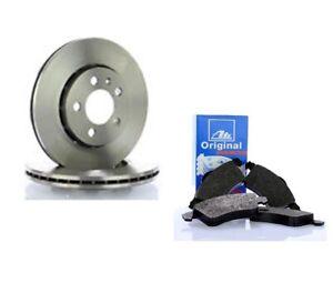 ATE 24.0122-0151.1 + 13.0460-7117.2 Jeu de 2 disques de frein + Jeu de 4 plaquet
