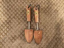 "Hess ""Benchmaster"" Cedar Wood Shoe Trees  ""S"""