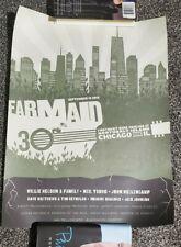 Dave Matthews Poster Chicago Farm Aid