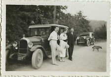 PHOTO ANCIENNE - VINTAGE SNAPSHOT - VOITURE TACOT AUTOMOBILE MODE - CAR FASHION