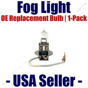 Fog Light Bulb 1pk 55 Watt OE Replacement - Fits Listed GMC Vehicles (d) - 01007