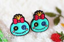 Disney lilo&stitch scrump metal earring ear stud unisex earrings one pair new