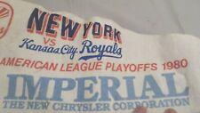 1980 American League Playoffs New York Yankees vs KC Royals Pennant