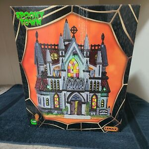 All Hallows Cathedral - 2016 Lemax Spooky Town #65072 - Brand New NRFB