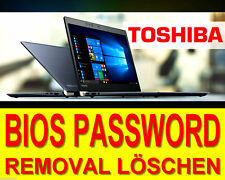Toshiba BIOS Password Remove Löschen Challenge and Response CODE EFI BIOS Unlock