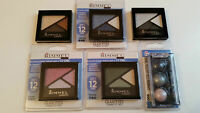 RIMMEL TRIO EYESHADOWS - GLAM'EYES / TRAFFIC STOPPING - ASSORTED SHADES
