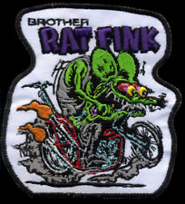Brother Rat Fink Patch Badge Hot Rod Motorcycle Biker Chopper Vest Jacket Roth