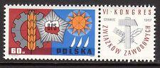 Poland - 1967 Union congress - Mi. 1769 MNH