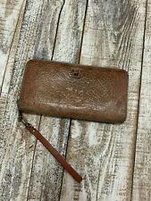 Will Leather Goods Tan Imogene Checkbook Wallet