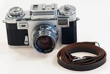ZEISS IKON CONTAX IIIa CAMERA ZEISS-OPTON SONNAR 1:2 f=50mm RED T RARE LENS 2/50