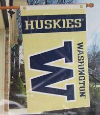 Washington Huskies House Flag 3' x 5' University Football Garden Flag Banner