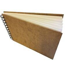 LANDSCAPE sketchbook pad A4 40 sheets 170gsm cartridge paper wood hardback