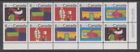 Canada #528a 6¢ Christmas Children's Designs LR Plate Block MNH