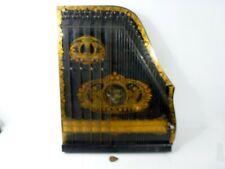Sehr schöne  Zither Harfe VALSONORA um 1910 Top