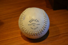 Official Dudley Haiti Sb12L Nd Softballs white leather cork-center baseball ball