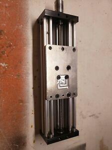 3D Printer Z-axis Lead Screw DIY C-beam CNC Sliding Table 150mm Linear Kit Used