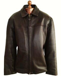 SCHOTT LEATHER Motorcycle Bomber Biker Bike Perfecto Flight Flying Jacket Coat