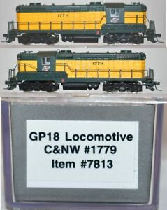 Chicago & North Western  1779 GP18 Proto Walthers N 7813 AP19.4