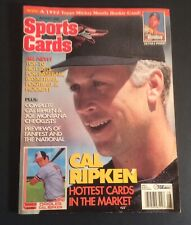 Sports Cards Magazine August 1995 Cal Ripken Jr. Cover