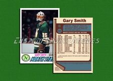 Gary Smith - Minnesota North Stars - Custom Hockey Card  - 1976-77