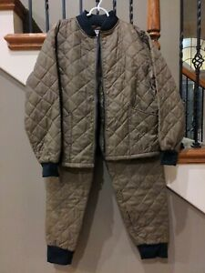 Redhead vtg Mens L Quilted Thermal Long Underwear Base Layer set thinsulate