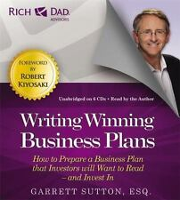 Rich Dad Advisors: Writing Winning Business Plans Prepare a Business (CD-Audio)