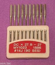 Aiguilles pour machines industrielles border B27 dcx27 Pour, BROTHER JUKI Taille 14 / 90