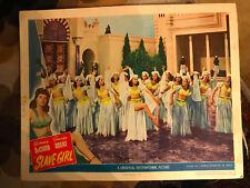 Slave Girl 1947 Universal lobby card Yvonne De Carlo