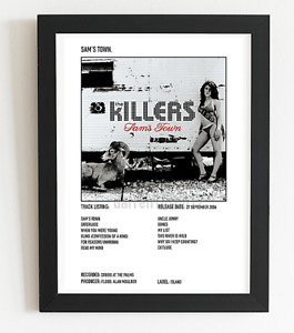 The Killers Poster Sam's Town Album Art Polaroid Style Indie Rock  A3 A4