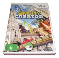 Sim City Creator Nintendo Wii PAL *Complete* Wii U Compatible