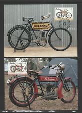Australia 2018 : Vintage Motorcycles - Set of 4 Maxicards, Mint Condition