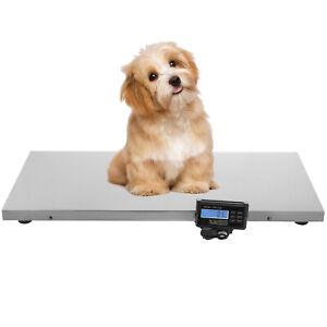 660LB Digital Livestock Vet Scale Hog Pet Dog Cat Sheep Goat Scale Power Pet US