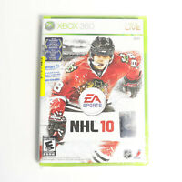 NHL 10 Microsoft Xbox 360 hockey video game Brand New Sealed live EA Sports