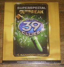 The 39 Clues Superspecial OUTBREAK C Alexander London (2016 CD) Compact Disc NEW