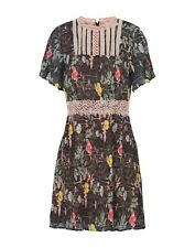 Foxiedox Kinsey Dress Black Size Large UK 12 rrp £140 DH084 OO 07