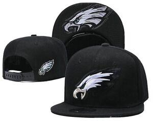 New Era 9Fifty Philadelphia Eagles NWT Snapback Hat (Black/White) Men's NFL Cap