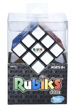 Hasbro Rubik's Cube 3x3 Puzzle Game w/ Stand Genuine Official *New In Box*